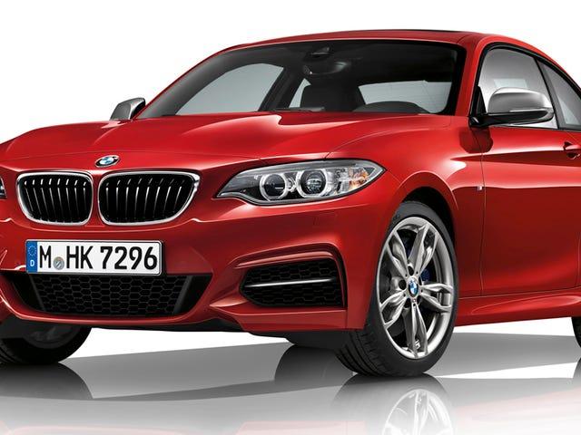 รุ่น BMW 2 Series 2017 ได้ชื่อที่ใหญ่กว่าและสับสนมากกว่าเล็กน้อย