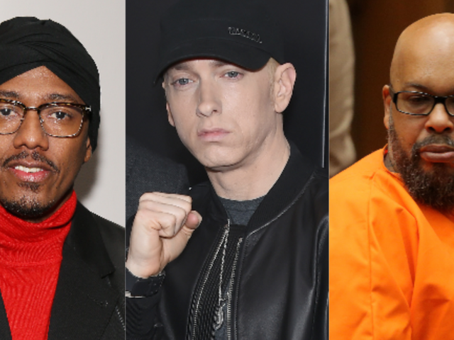 Nick Cannon, Eminem and Suge Knight Walk Into a Bar...