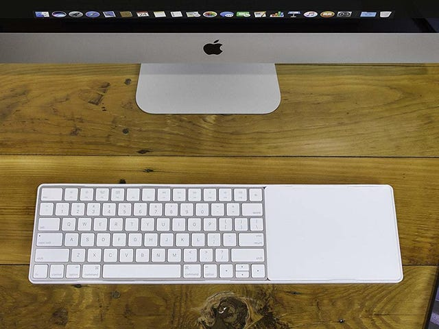 Apple Won't Sell You a Keyboard/Trackpad Combo, But This Accessory Lets You Build Your Own
