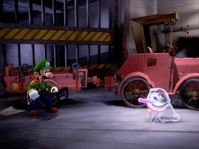 Luigi's Still Alive In Luigi's Mansion 3