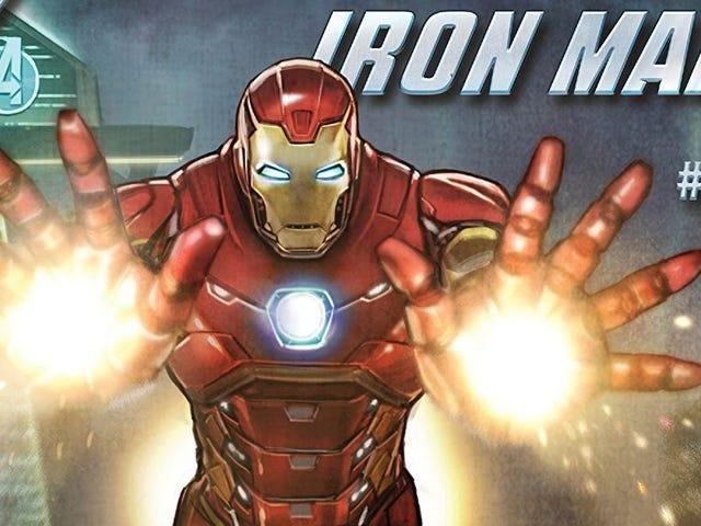 Avengers-spillet har en bundet tegneserie om, hvordan teamets problemer startede