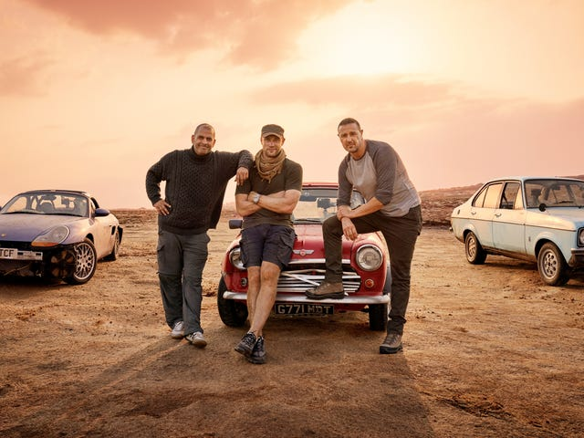 The Latest Revamp of Top Gear Is Full of Laughs, Chaos and Pain