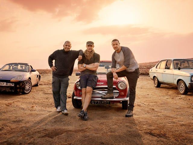 Η τελευταία αναθεώρηση του Top Gear είναι γεμάτη γέλια, χάος και πόνος