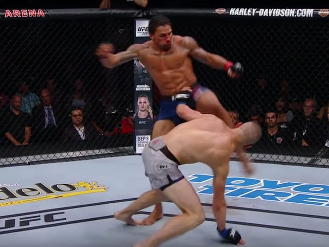 Eryk Anders's Soccer-Kick KO Was Brutal And Legal