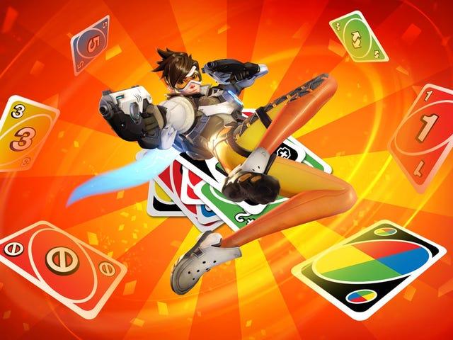 <i>Overwatch</i> Workshopの最も人気のあるモードは、カードゲームUnoです。
