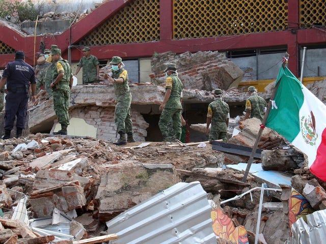 Los daños y devastación que dejó el terremoto de magnitud 8.2 da México, en imágenes