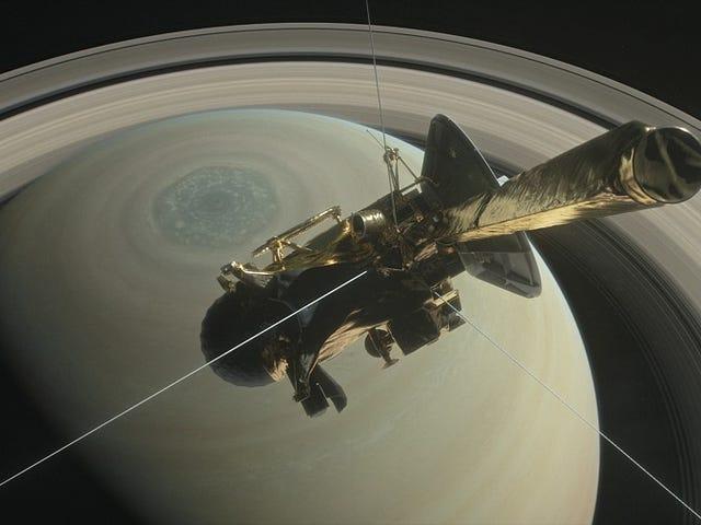 Cassini dará cinco vueltas más sobre Saturno er en av de mest populære i verden.