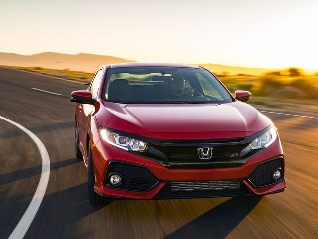 You Can Finally Get A Great Deal On A Honda Civic Si