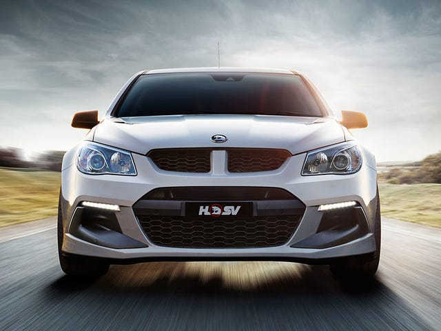 The Last Holden Commodore Ever Might Be A Big Nasty ZR1-Powered Hell Sedan