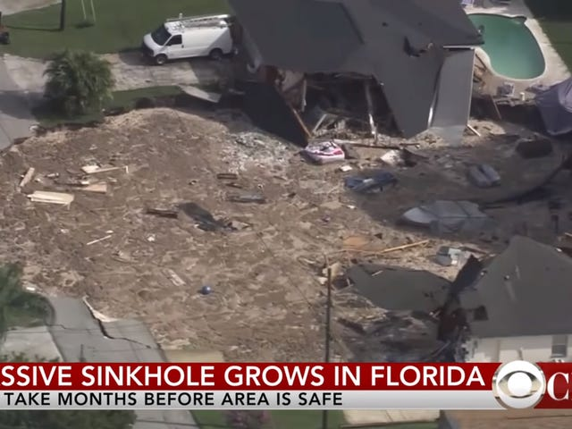 Should You Be Worried About Sinkholes?