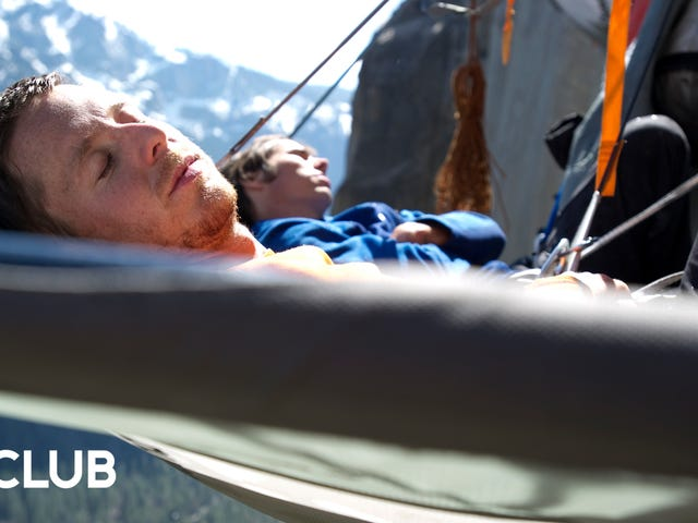"""Tommy Caldwell and Kevin Jorgensen on what """"down time"""" looks like2,000 feet above the ground"""