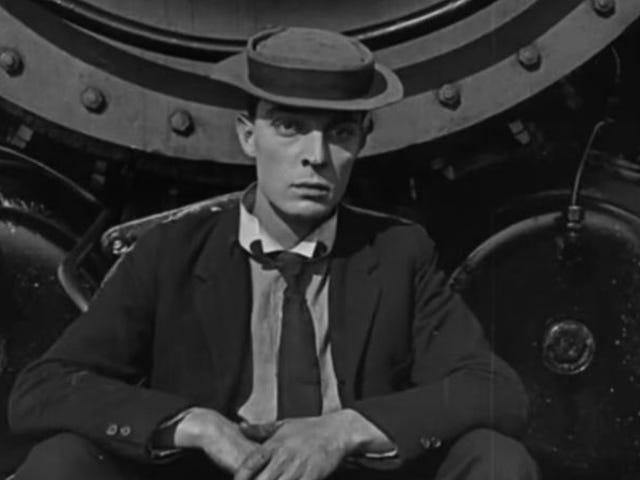 "Buster Keaton เป็นตัวแทนของ ""the gag"" ในภาพยนตร์"