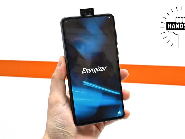 Energizer's Extra Juicy Phone Is Dumb Thick