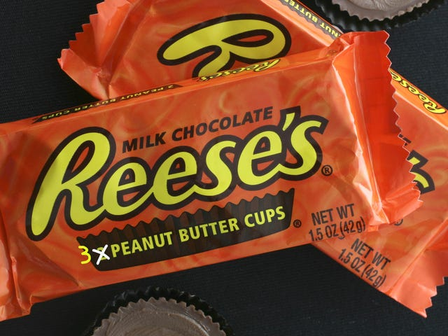 Well well well, Reese's could have been producing 3-pack peanut butter cups all along