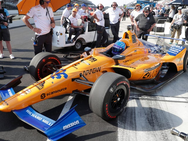 Fernando Alonso and McLaren Did Not Qualify For The Indy 500