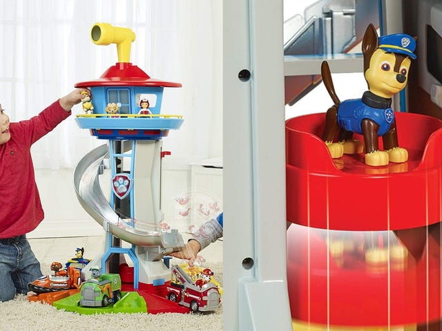 No Toy's Too Big, Not Even This Kid-Sized Paw Patrol Tower