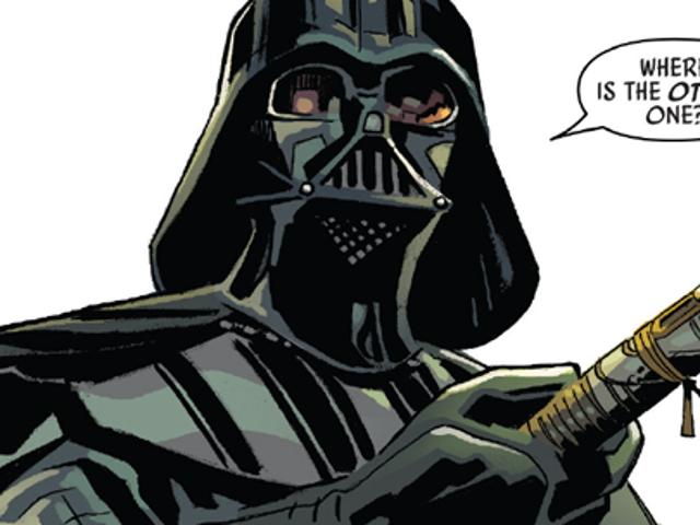 The New Star Wars Annual vertelt een verhaal van twee zeer intrigerende lichtzwaard