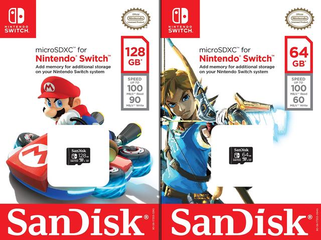 Γνωρίζετε ότι μια κονσόλα λειτουργεί καλά όταν η SanDisk ξεκινά την εκτόξευση αδειοδοτημένων καρτών SD.  Μια συνεργασία μεταξύ της Nintendo και της μνήμης ...