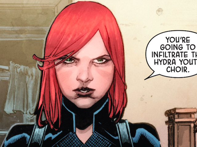 In Secret Empire, Women Are Leading the Resistance Against Hydra's Fascism