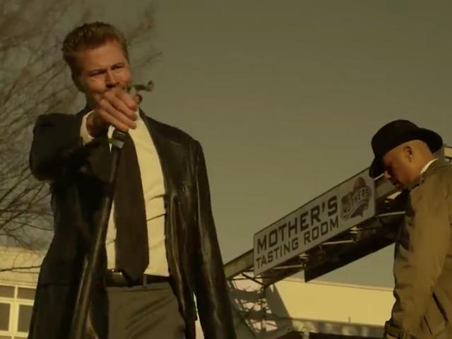 Sidste opkald: Brad Pitts bror Doug spiller i Se7en-parodi for bryggeri i Missouri