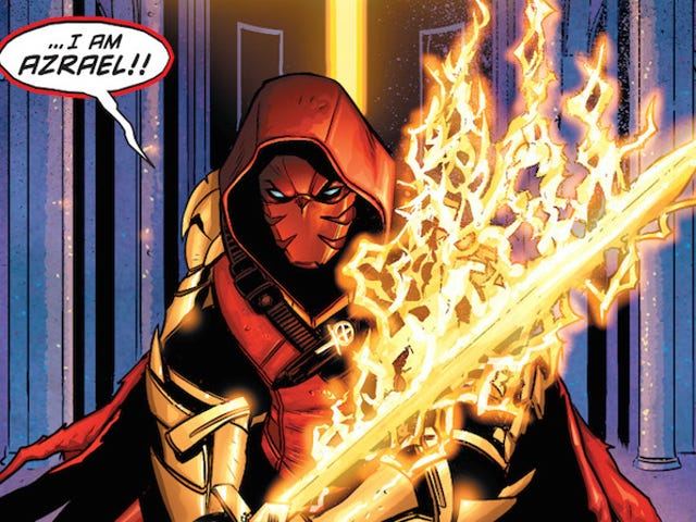 Azrael Joins Gotham in the Most Insane, Gotham-y Manner Possible