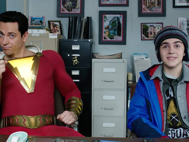 OK. If IO9 is on weekend hiatus, I'll post the new SHAZAM thing here.