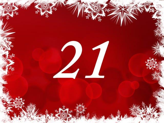 The TAY Advent Calendar: Day 21