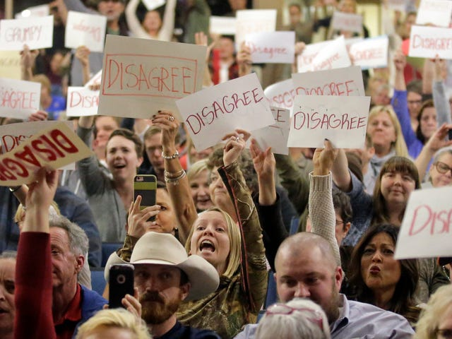 If You're Heading to Your Representatives' Town Hall This Week, Tell Us How it Went