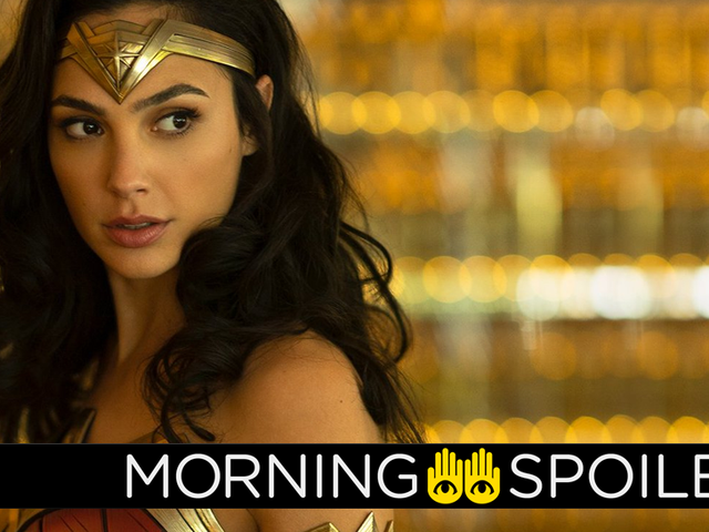 New Set Footage From Wonder Woman 2, and More