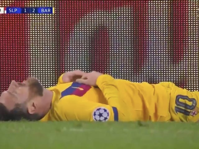 Lionel Messi Pulls Off One Of The Worst Misses Of His Career, Presumably To Prove He's Human