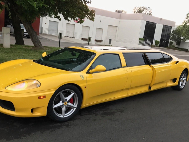 I Can't Imagine Why Nobody Wanted This Ferrari 360 Limo