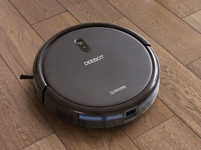 Outsource Vacuuming To This $180, Alexa-Enabled Robot