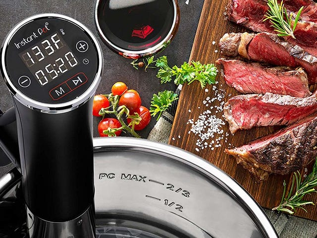 Instant Pot's Sous-Vide Circulator Doesn't Require an Instant Pot, and It's Only $60