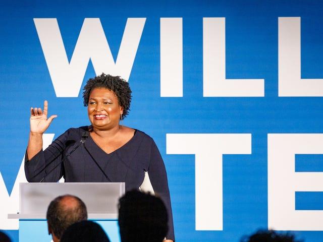 Stacey Abrams บอกว่าเธอพร้อมที่จะเป็นรองประธาน