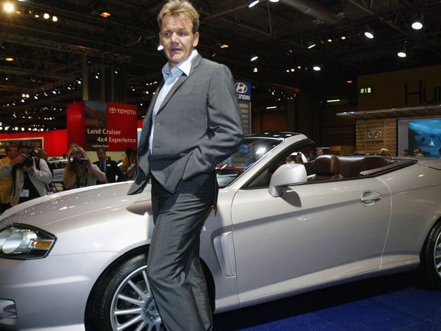 Don't Use Gordon Ramsay's Trick to Get Out of Speeding Tickets