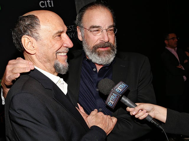 Are F. Murray Abraham and Mandy Patinkin Involved in an Epic War of the Scene Chewers?