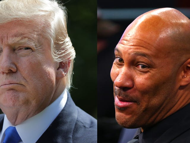 Trump's Racist Beef Could Make LaVar Ball A Lot of Money