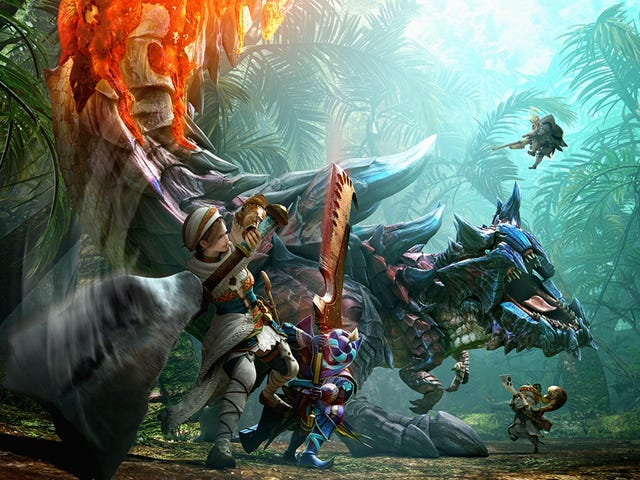 Detail Pertama Tentang Film <i>Monster Hunter</i> Hollywood
