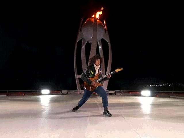This Is The Most Metal Closing Ceremony Of All Time