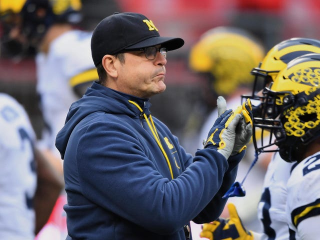 Jim Harbaugh Probably Should Have Waited A Bit Before Speaking Out Against Mental Health Waivers For Transfers