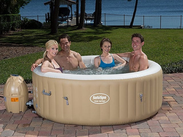 Host the Neighborhood's Best Swingers Party With This $302 Inflatable Hot Tub