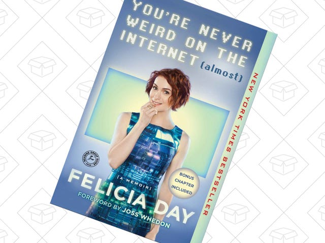 Listen to Felicia Day Narrate Her Own Memoir For $4