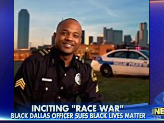 Dallas Cop Accuses Black Lives Matter, Obama of Inciting Race War, Files Lawsuit