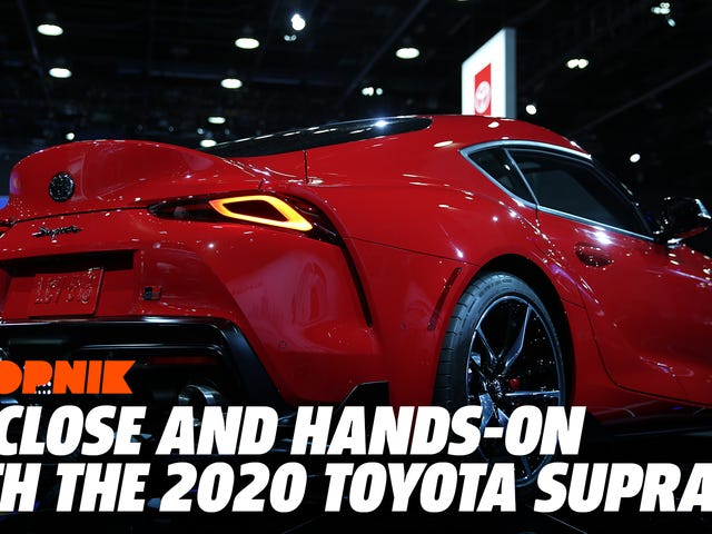 La oss ta en videoklipp av den nye Toyota Toyota Supra