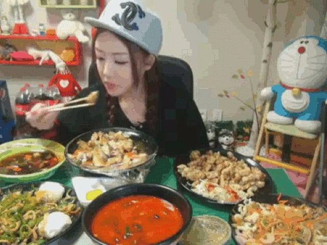 Δείπνο Porn είναι μια Νότια Κορέα Διαδίκτυο τάση