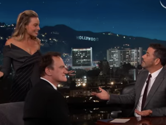 Quentin Tarantino talks retirement as his Once Upon A Time... In Hollywood stars crash Jimmy Kimmel Live!