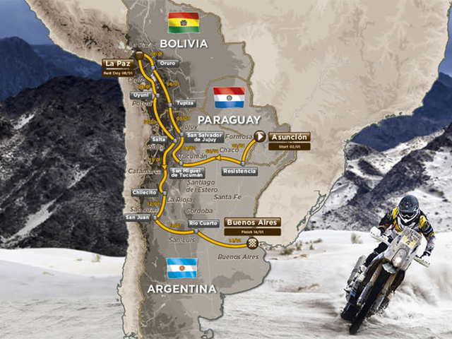 The World's Most Massive Vehicular Adventure Is Going Somewhere New Next Year