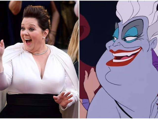 Melissa McCarthy might grow some tentacles for Disney's live-action The Little Mermaid