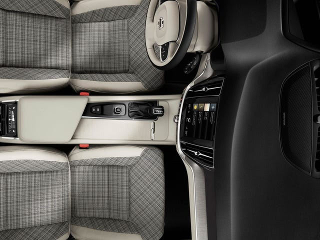 May I have your attention please, this morning. The new V60 comes with plaid seats. I repeat, plaid seats