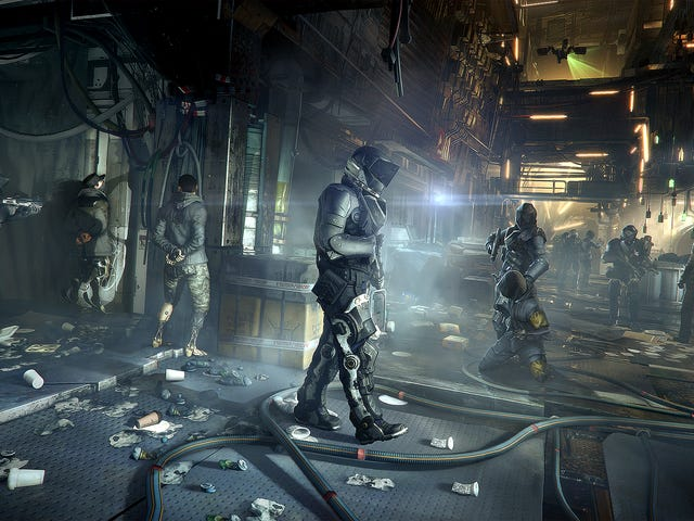 Deus Ex: Mankind Divided Headlines January's PlayStation Plus Lineup
